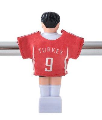 Kickertrikot Satz Mannschaft Türkei