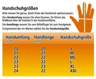 Turnier Kicker Handschuh links