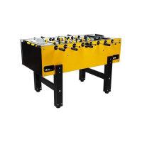 profi tischkicker tecball tournament gelb schwarz