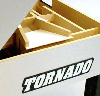 tischkicker tornado t 3000 oberteil aufgeklappt