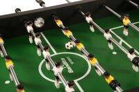 kickertisch profi soccer deluxe schwarz das spielfeld