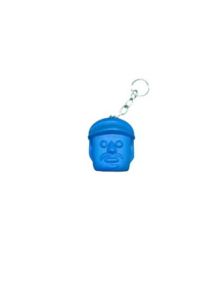Kopf Blau